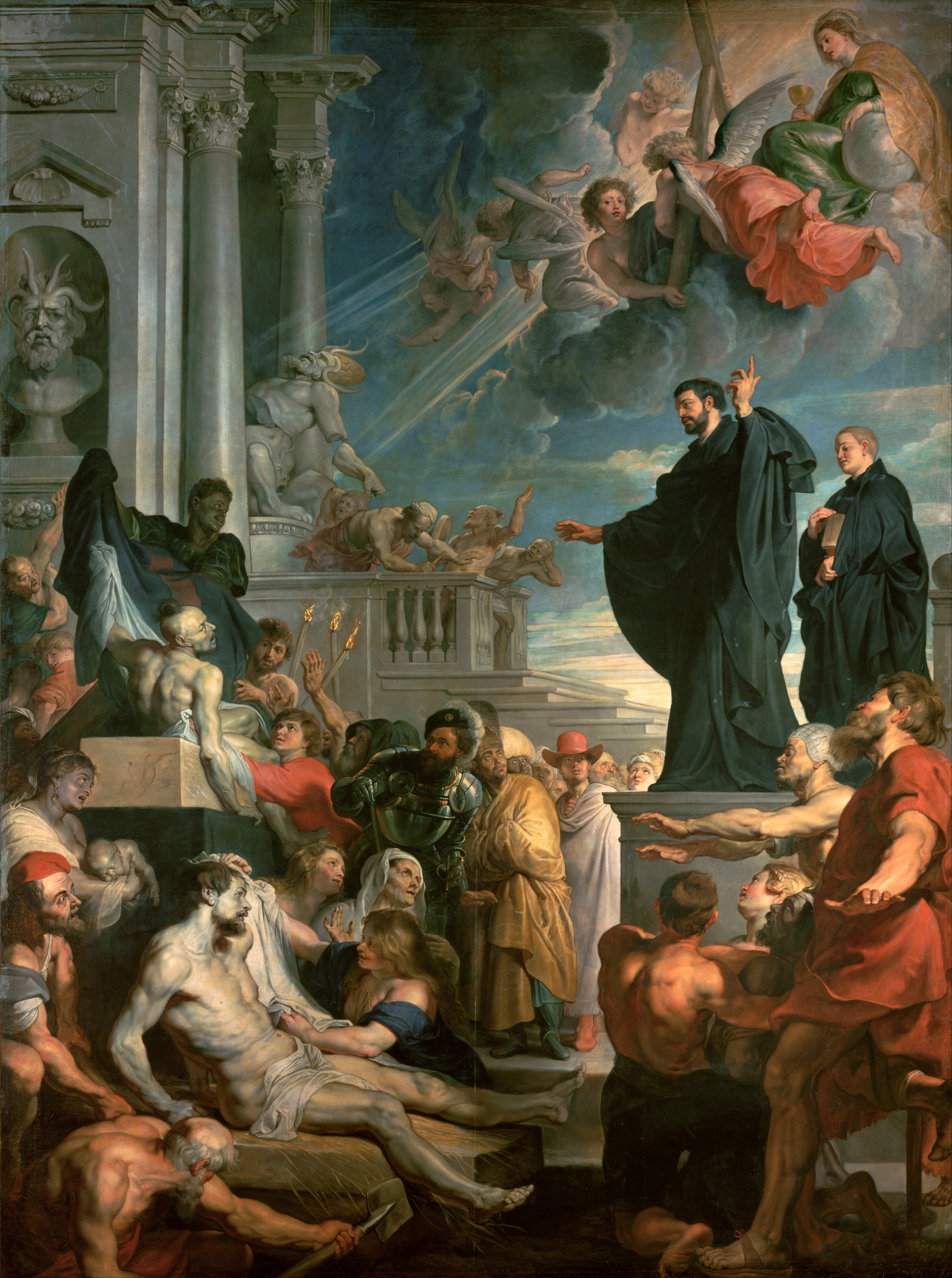 Rubens, The Miracles of St Francis Xavier, 1617